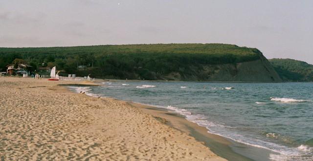 плаж през лятото