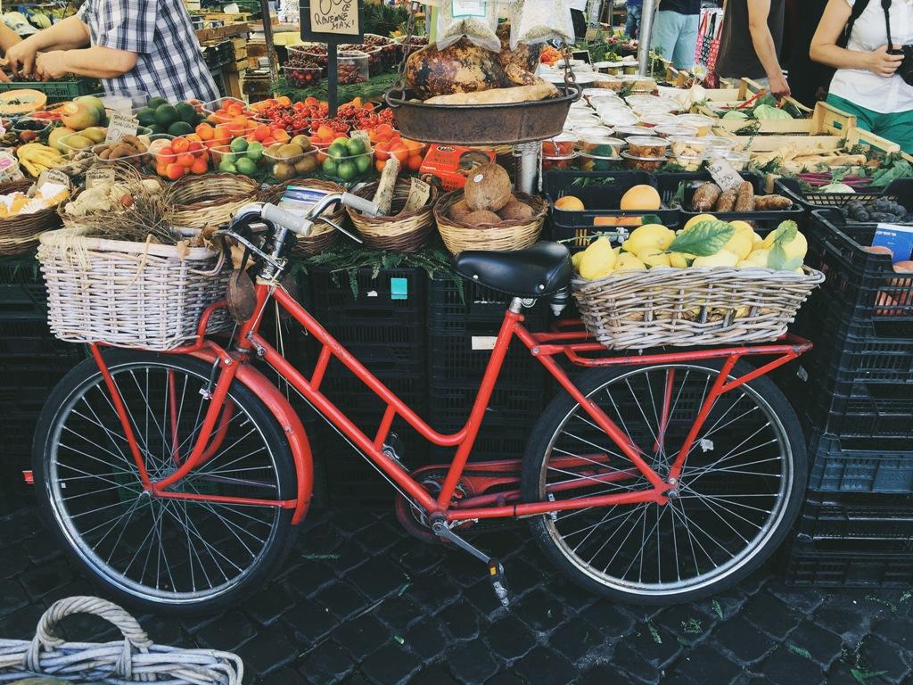 Пазарче за плодове Италия